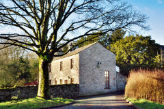 Casa de pedra rural inglesa Imagens de Stock Royalty Free