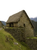 Casa de pedra (stone house). House made of stones in Machupicho Royalty Free Stock Photos