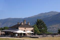 Casa de pedra velha Ioannina Grécia Imagens de Stock