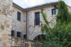 Casa de pedra velha, Ioannina, Grécia foto de stock royalty free