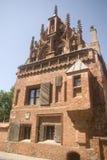 Casa de Perkunas, Kaunas, Lituania fotos de archivo