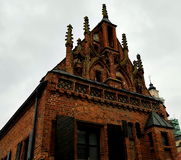 Casa de Perkunas, Kaunas, Lituania Fotografía de archivo