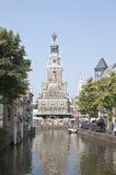 Casa de pesaje gótica, Alkmaar, los Países Bajos Fotos de archivo