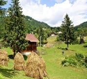 Casa de Piatra Village, Romania Immagine Stock Libera da Diritti