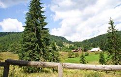 Casa de Piatra Village, Romania Fotografia Stock Libera da Diritti