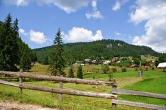 Casa de Piatra Village ,Romania Stock Images