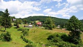 Casa de Piatra Village ,Romania Stock Image