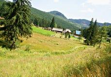 Casa de Piatra Village, Rumania Foto de archivo libre de regalías