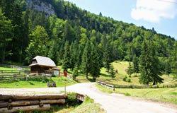 Casa de Piatra Village, Rumania Imagen de archivo libre de regalías