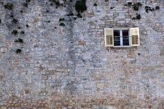 Casa de piedra Foto de archivo libre de regalías