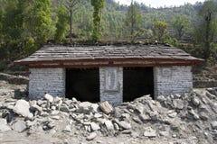 Casa de piedra abandonada Imagen de archivo