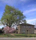 Casa de piedra en s [romg Foto de archivo