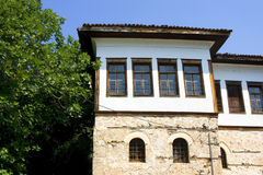 Casa de piedra tradicional en Kastoria (Makedonia, Gree Fotografía de archivo libre de regalías