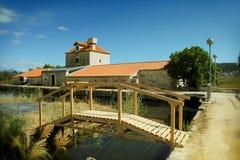 Casa de piedra vieja Foto de archivo libre de regalías