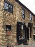 Casa de piedra vieja preciosa en Lincoln fotografía de archivo