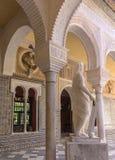 Casa de Pilatos塞维利亚,西班牙庭院  免版税库存图片