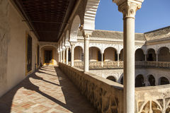 CASA DE PILATOS PALACE IN SEVILLE, SPAIN Royalty Free Stock Photography
