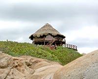 Casa de planta baja de la playa Imagen de archivo libre de regalías