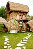 Casa de planta baja de la playa Imagenes de archivo