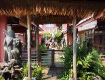 Casa de planta baja tailandesa Foto de archivo libre de regalías