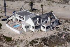 Casa de playa Fotos de archivo libres de regalías