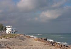 Casa de playa Imagen de archivo libre de regalías