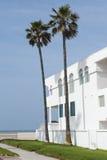 Casa de playa, característica de las propiedades inmobiliarias Foto de archivo libre de regalías