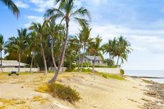 Casa de playa de Hawaii del ohau de Waikiki foto de archivo