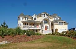 Casa de playa de lujo Fotografía de archivo libre de regalías