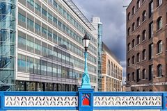 Casa de ponte da torre em Londres Foto de Stock Royalty Free