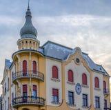 A casa de Poynar, Oradea, Romênia Fotografia de Stock