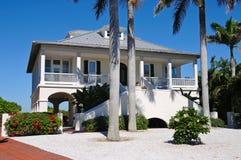 Casa de praia Imagem de Stock Royalty Free