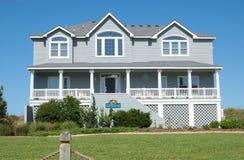Casa de praia Fotos de Stock Royalty Free