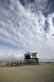 Casa de praia Imagem de Stock
