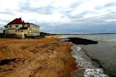 Casa de praia Fotografia de Stock Royalty Free
