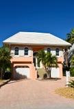 Casa de praia de Florida Foto de Stock Royalty Free
