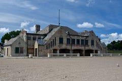 Casa de praia de Southport fotografia de stock royalty free