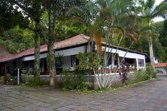 Casa de praia em dos Reis de Angra Fotografia de Stock Royalty Free