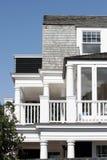 Casa de praia luxuosa Fotos de Stock Royalty Free