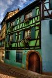 Casa de quadro verde HDR Foto de Stock Royalty Free