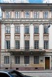 Casa de quatro estações em Lviv, Ucrânia Fotografia de Stock Royalty Free