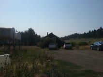 Casa de rancho imagen de archivo