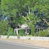 Casa de rancho foto de archivo