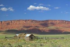 Casa de rancho cénico Fotos de Stock