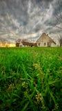Casa de rancho vieja de Abandone Imagenes de archivo