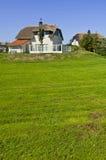 Casa de Reetdach Foto de Stock Royalty Free