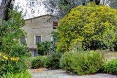 Casa de Renoir do museu. Cagnes-sur-Mer Imagens de Stock
