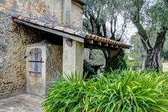 Casa de Renoir do museu. Cagnes-sur-Mer Foto de Stock Royalty Free