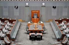 Casa de representantes australiana Imagens de Stock