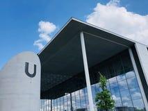 Casa de representantes do Bundestag alemão em Berlim imagens de stock